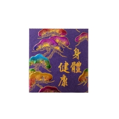 Color printing red envelopes
